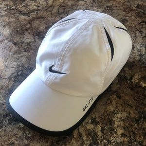 Nike Dry-Fit White Hat